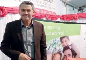 Le président du Sarcom, Frédéric Lemaire, se félicite de l'ampleur que prend le salon dans le Santerre.