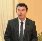 Franck Leroy, maire d'Epernay et président du G10.