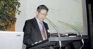 Avec l'intervention de Shigeaki Yamane de Mitsubishi Chemical Corporation, ce rendez-vous est devenu mondial.