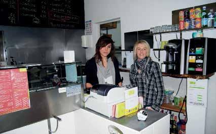 Vanessa et Jennifer, aux commandes de Snackine et Tartine