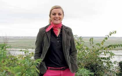 Charlotte Froissart respire la baie de Somme.