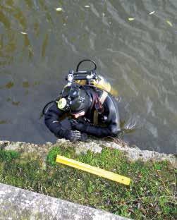 La mission de Guillaume Danel s'est déroulée dans une eau avec une visibilité à 10 cm.