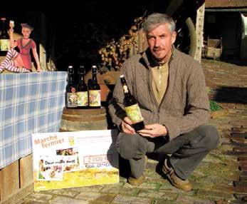 En octobre, Pascal Detrez a été récompensé par le conseil regional de l'Oise pour sa bière blonde.