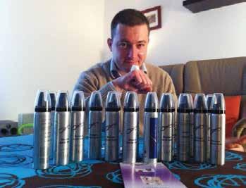 François Péné vient de revoir le packaging de ses produits, plus proche des codes du marché de la cosmétique.