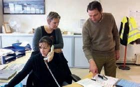 Parmi son équipe, Jean-François Garnier peut compter sur Aurélie Carlier et Nathalie Ott pour poursuivre le développement de son entreprise.