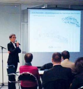 La présentation du premier point a été assurée par des collaborateurs de la CAC, Arnaud Preioni et Isabelle Seghers.