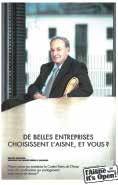 Le visuel portrait de Gérard Brémond, président du groupe Pierre & Vacances.