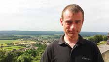 Alexis Guilbert est passionné d'histoire et un fervent défenseur de la richesse militaire dans l'Aisne.