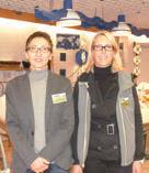 Christiane Boutrouille, nouvelle directrice du magasin Amiens-Friant en compagnie de Valérie, manager caisse.