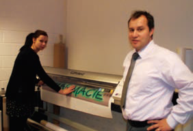 Stéphane Dubois et Francis Briot sont fiers du développement de leur entreprise.