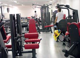 Julien Daux a investi dans 35 postes de musculation.