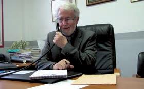 Bernard Davergne, président de la CCVI, a confiance en l'avenir.