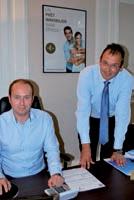 Christophe Pouilly et Jacques Devaux revisitent le métier de courtier immobilier.