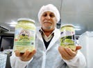 Zouher Albitar est à la tête d'une entreprise originale qui fabrique dans l'Aisne des fromages orientaux.