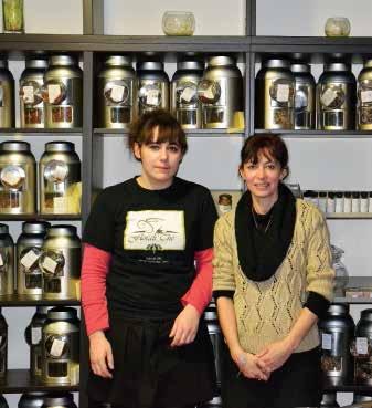 Pas moins de 60 variétés de thé sont disponibles chez Floralithé.