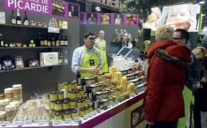 Terroirs de Picardie proposait pendant le salons différentes produits issus des productions picardes.