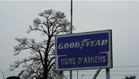 L'usine Goodyear, installée sur une parcelle de 35 hectares, représente 10 % de l'emploi de la zone.