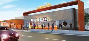 Le futur multiplex de Cinémovida à Soissons abritera huit salles de cinéma.