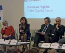Une première conférence autour de la Journée internationale de la femme a eu lieu le 8 mars.