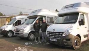 Le couple privilégie les camping-cars monocoques.