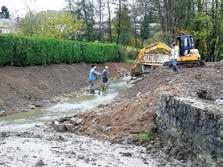L'Union veille à la bonne exécution des travaux d'entretien des cours d'eau.