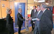 Gérard Larcher et les élus du département ont rendu visite aux partenaires de l'AMF80.