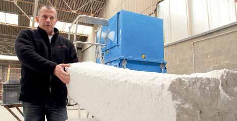 Le compacteur de polystyrène permet de recycler facilement la matière plastique, issue des déchets d'hydrocarbures.