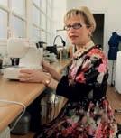 Béatrice Lemonne a aménagé une partie de son appartement saintquentinois en atelier pour les besoins de son auto-entreprise.
