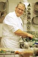 Alain Pfirmann revendique une cuisine créative et accessible.