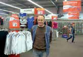 Laurent Sagnier a ouvert le magasin Intersport en mars.