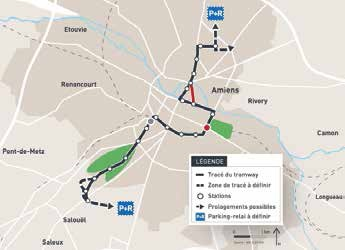 La ville a opté pour un tracé de 10,5 km allant du nord au sud-ouest, mais des variantes restent à affiner.