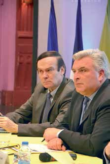 Frédéric Cuvillier a annoncé la mise en service du barreau ferroviaire Picardie-Roissy pour 2020.