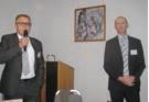 Les représentants d'EDF et ERDF en Picardie