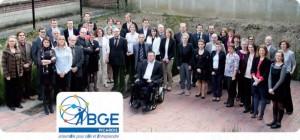 L'équipe au complet de BGE Picardie.