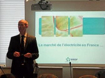 Philipe Lahary a présenté les grandes actions en faveur de l'égalité professionnelle menées par ERDF Picardie.