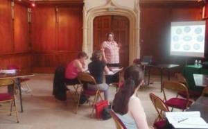 Des professionnels ont animés les ateliers interactifs.