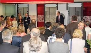 Laurent Roubin a rappelé les engagements de la banque auprès des entreprises.