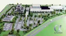 Voilà à quoi ressemblera le site Alphatech en 2014. Il regroupera dans trois ans 1 000 techniciens et ingénieurs.