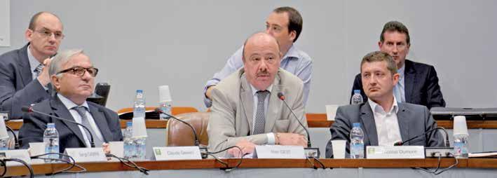 Alain Gest a été reçu par les élus du conseil régional pour répondre à leurs interrogations sur le canal Seine-Nord.