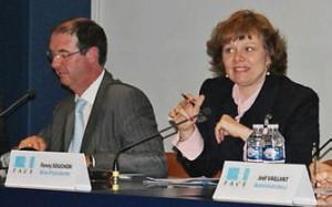 Président de FACE Oise depuis quatre ans, Richard Brunet a cédé sa place à sa vice-présidente, Fanny Souchon.