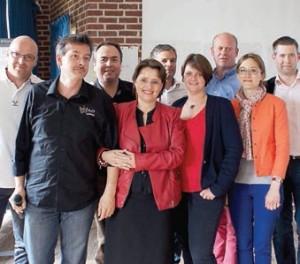 Le nouveau bureau du CJD Picardie a été constitué, présidé par le compiégnois Sébastien Bordes.
