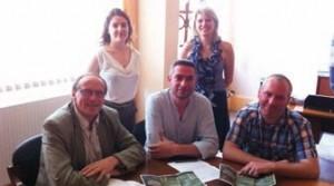 La ville de Bohain a signé une convention avec Hortibat pour la mise en place d'un chantier d'insertion.