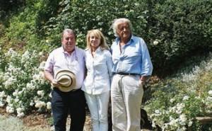 Avec son ami Jean-Pierre His et son épouse Dominique, Etienne Le Sidaner souhaite faire de Gerberoy un lieu harmonieux.