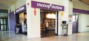 L'enseigne Monop'Station est créé depuis 2011 avec le groupe néerlandais Servex.