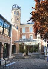 La tour de la maison de Jules Verne abrite l'escalier d'époque