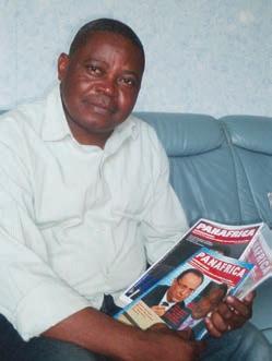 James Ngumbu, le fondateur de Panafrica.