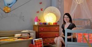Aurélie Rody crée des univers colorés et originaux pour les enfants.