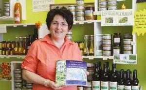 Valérie Ternisien aime faire partager sa passion des artisans.
