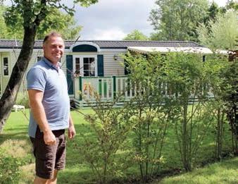 Au camping Le Domaine de Diane, les touristes propriétaires ont profité de leurs mobil- homes.