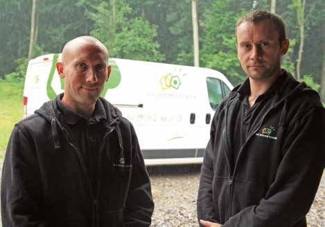 Damien Cordonnier, à gauche, a rejoint son frère Sébastien, fondateur de SC Domotique, depuis un an.